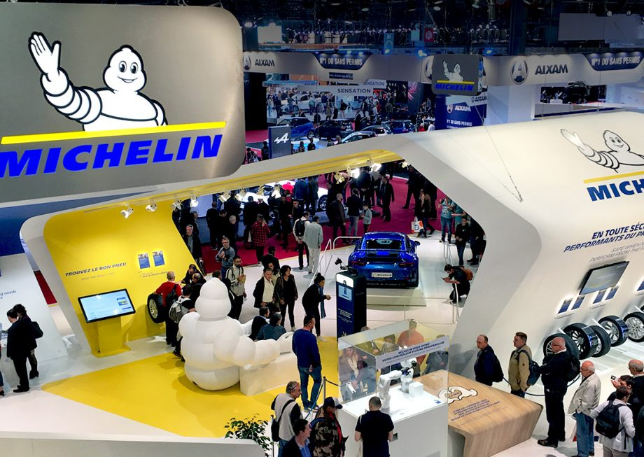 Michelin photo at the Paris 2018 World Motor Show