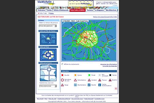 Site en 2001