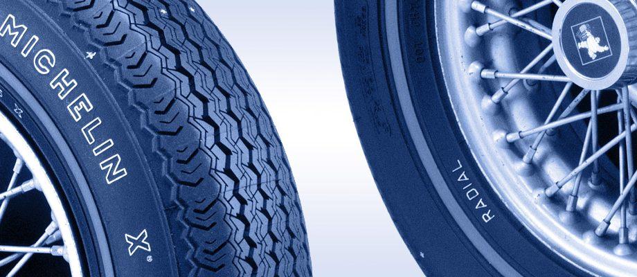 Deux pneus Michelin X Radial