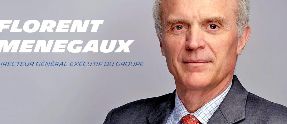 Portrait of Florent Menegaux