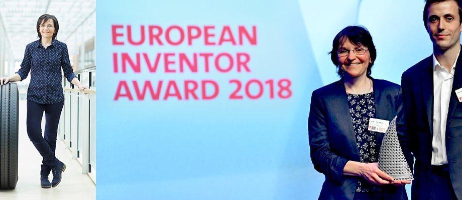 MICHELIN recevant le prix de l'inventeur européen 2018