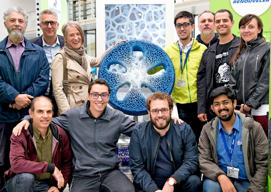 L'équipe du concept Vision