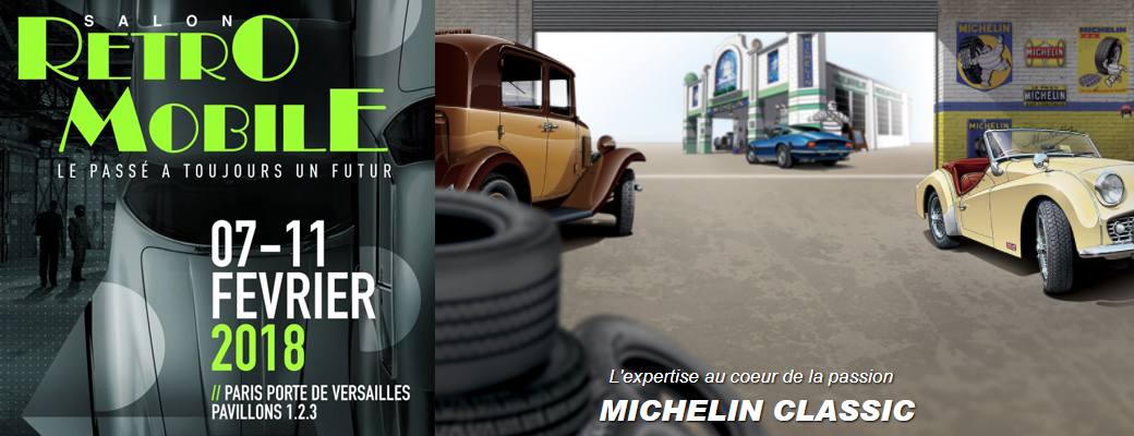 Michelin Classic: Modern tires with a vintage look