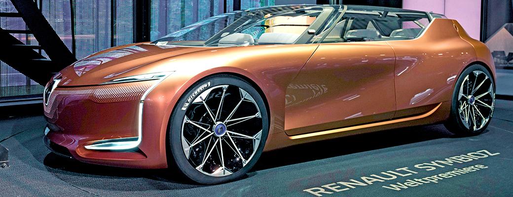 Michelin partners Renault's Symbioz concept car