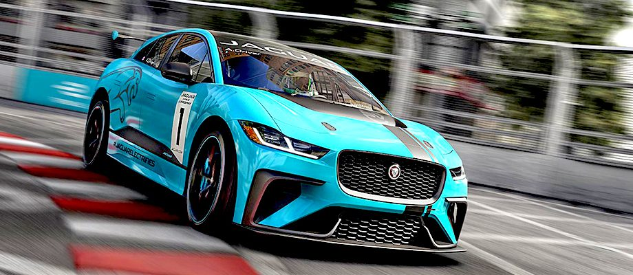 Jaguar for I-Pace eTROPHY