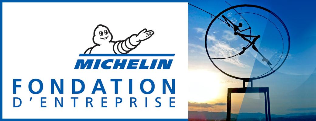 Logo of the Michelin Corporate Foundation