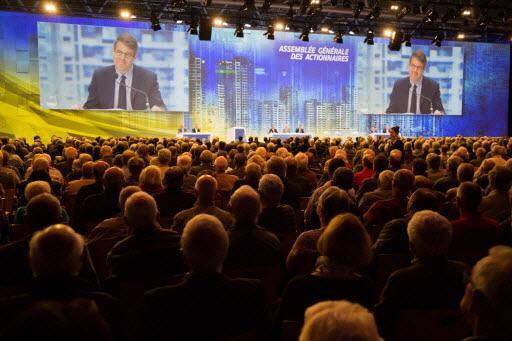 assemblée générale des actionnaires