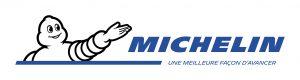 Logo Michelin blanc horizontal