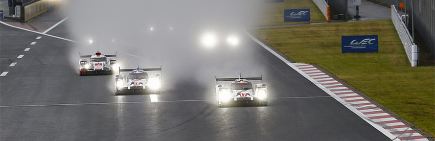 2015 WEC - Michelin's complete endurance racing range tire in action at Fuji