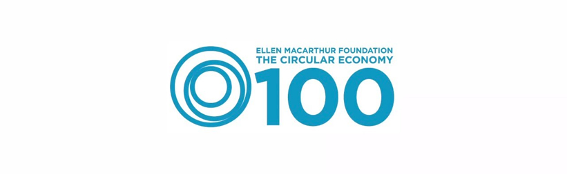Logo de Ellen MacArthur Foundation The Circular Economy 100