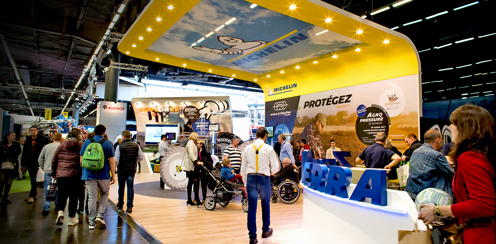 Michelin supporting farmers and sustainable mobility