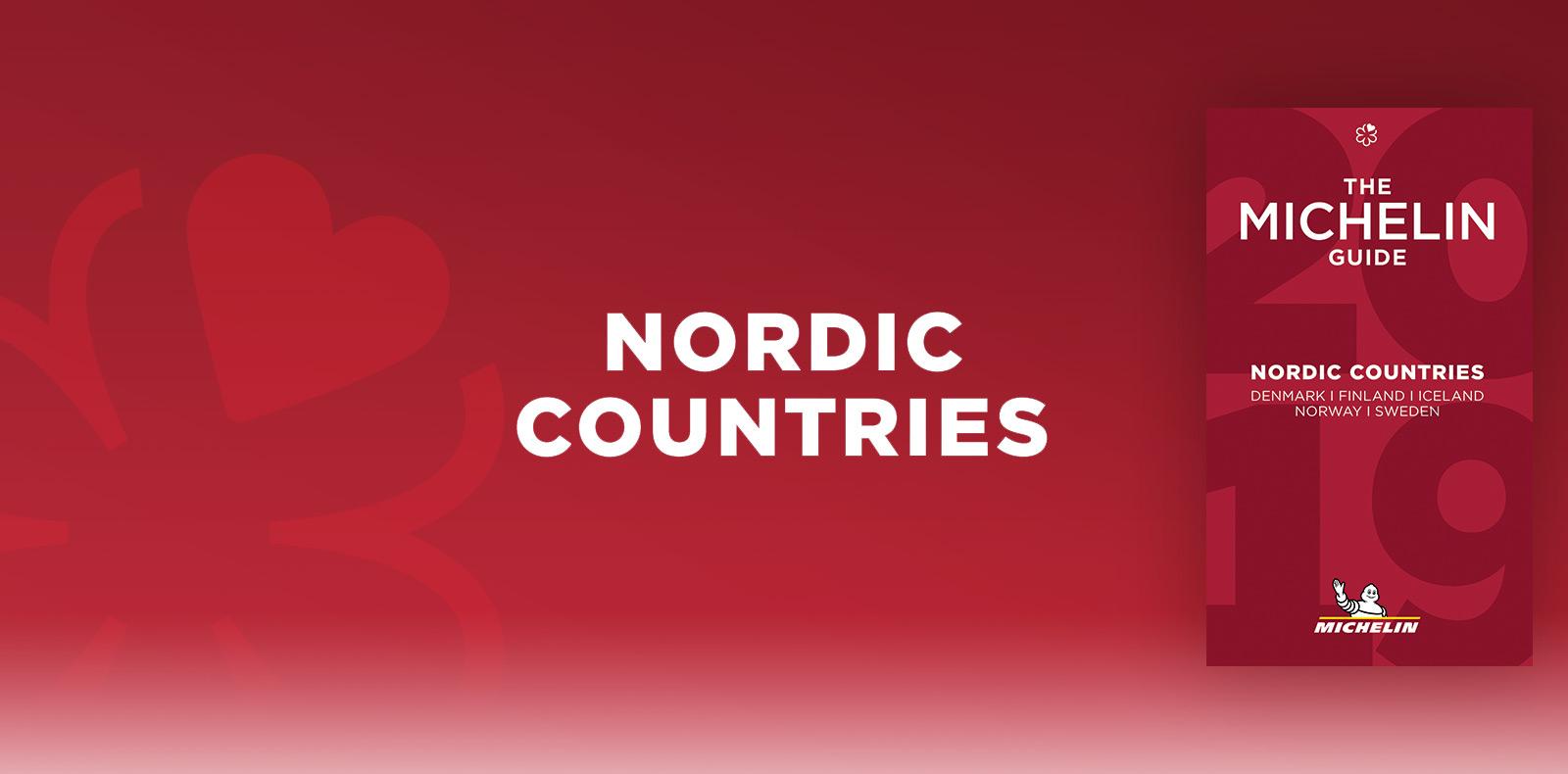 MICHELIN guide 2019 – Nordic Countries