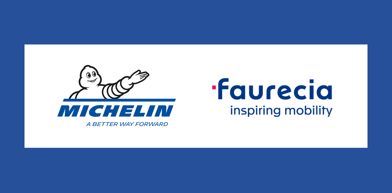 Michelin - Faurecia and Michelin formalize their joint venture and ...