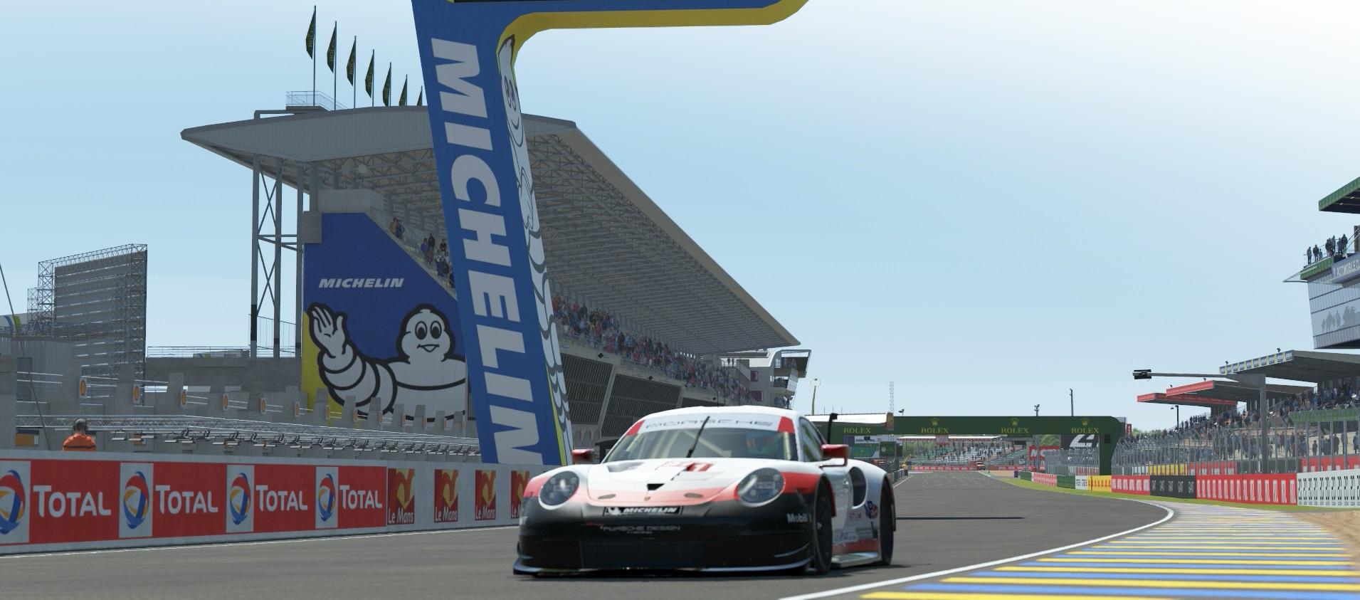Michelin, big in the world of sim racing