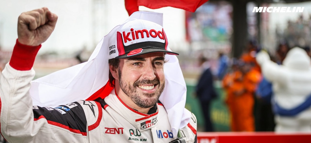 ALONSO Fernando (spa), Toyota TS050 hybrid lmp1 team Toyota Gazoo racing, portrait during the 2019 Le Mans 24 hours race, from June 15 to 16 at Le Mans circuit, France - Photo Antonin Vincent / DPPI