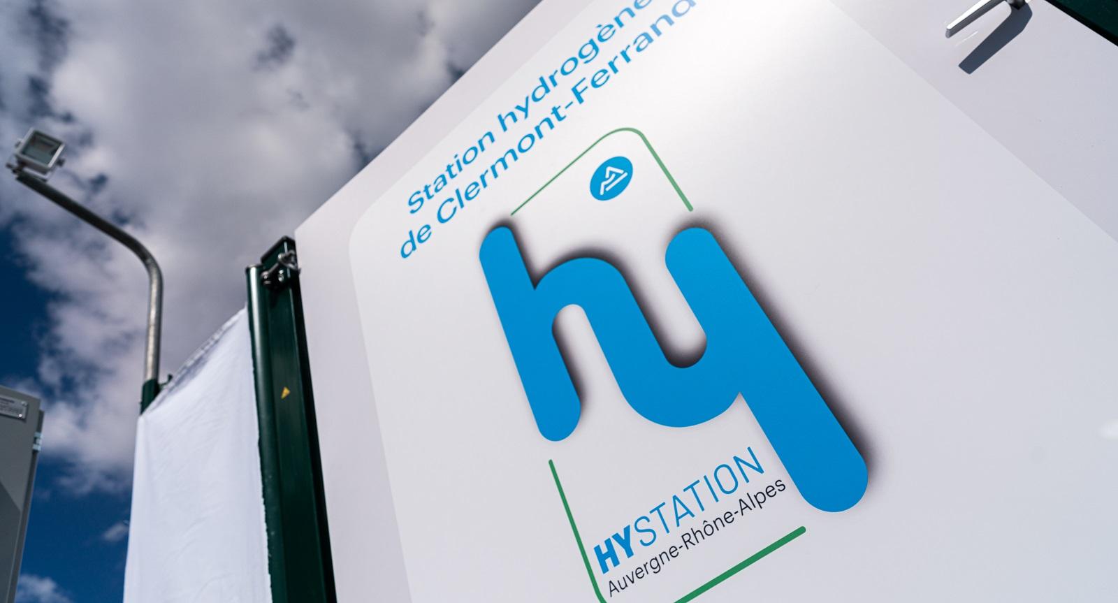 Inauguration de la première station Hydrogène  HymPulsion de la Zero Emission Valley à Clermont-Ferrand le 6 septembre 2019. Photo : Jérôme Cambier/2EP/Michelin