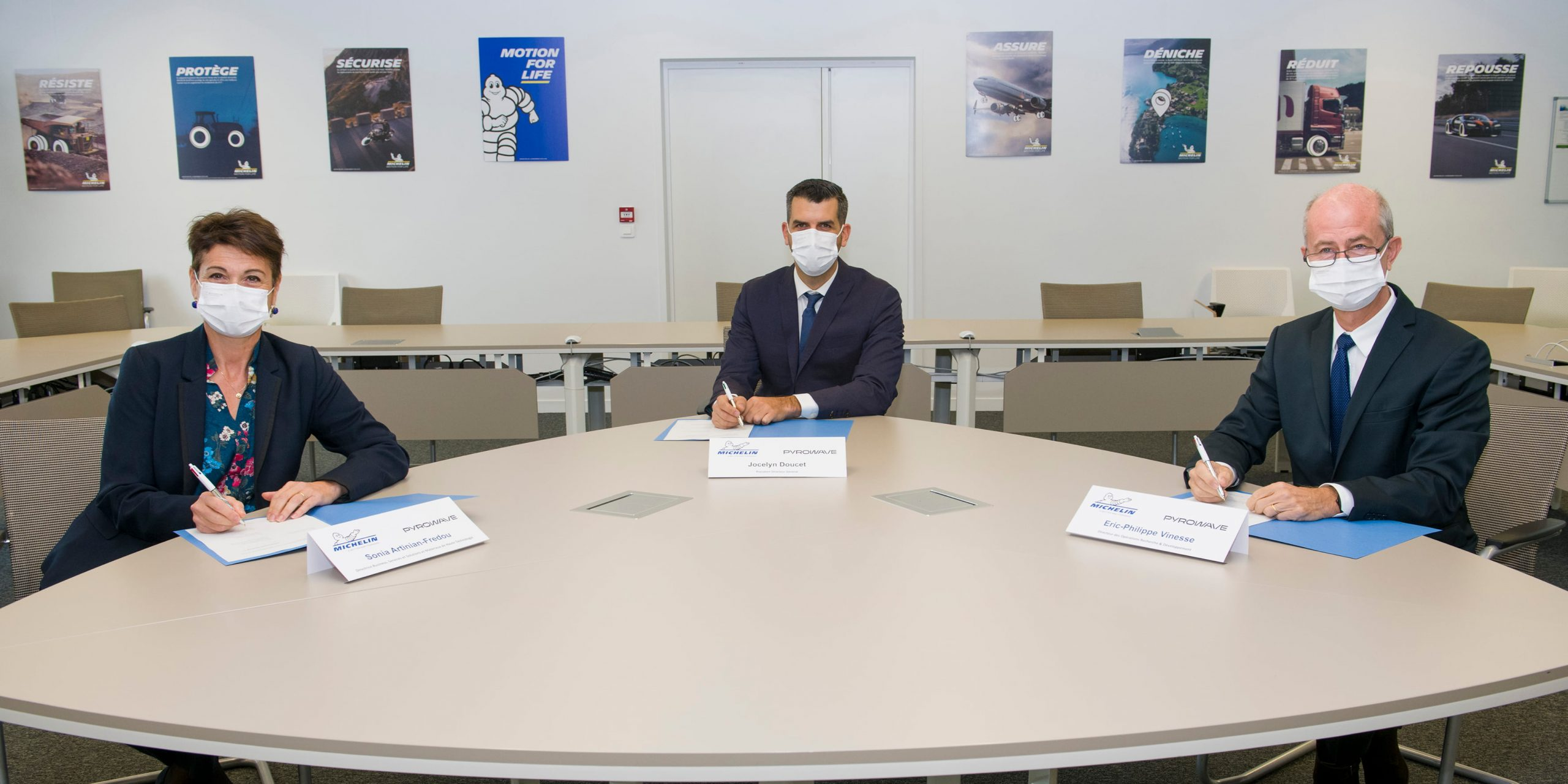 Michelin and Pyrowave join forces to industrialize an innovative plastic waste recycling technology