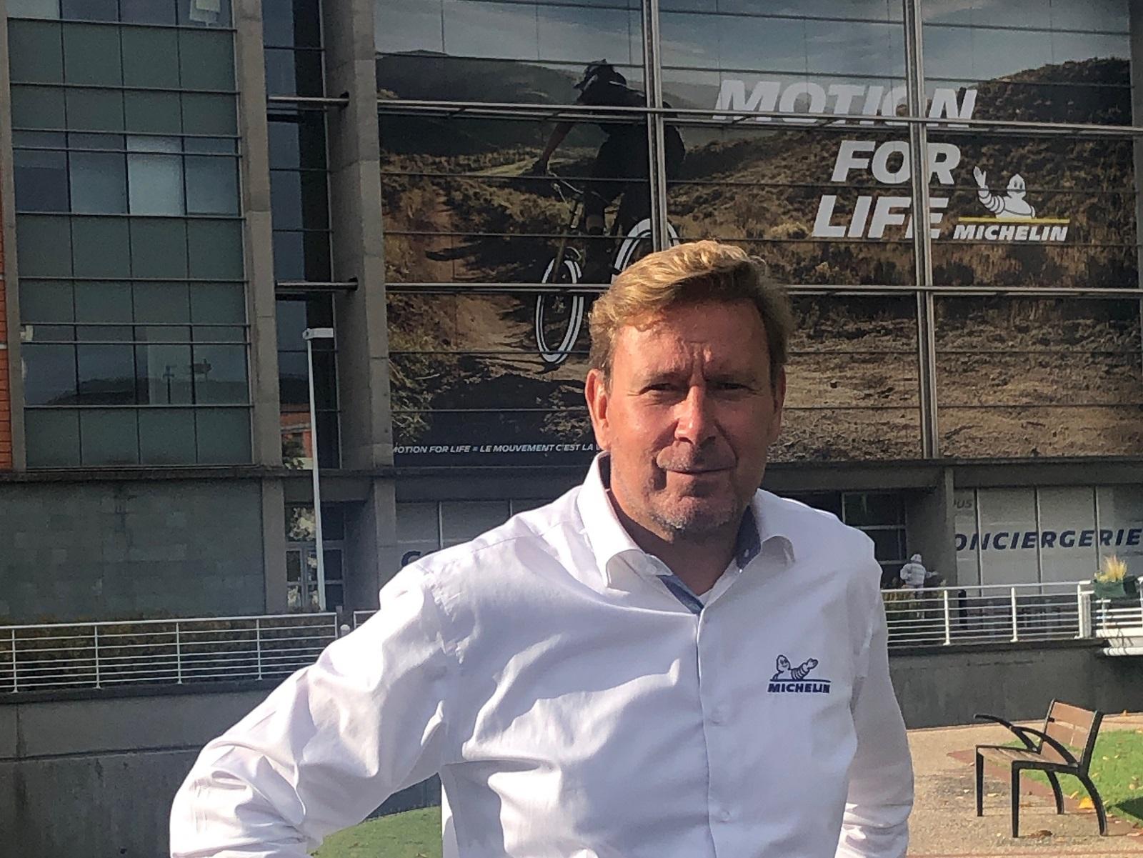 Cyrille Roget, Directeur de la communication scientifique et technique chez Michelin