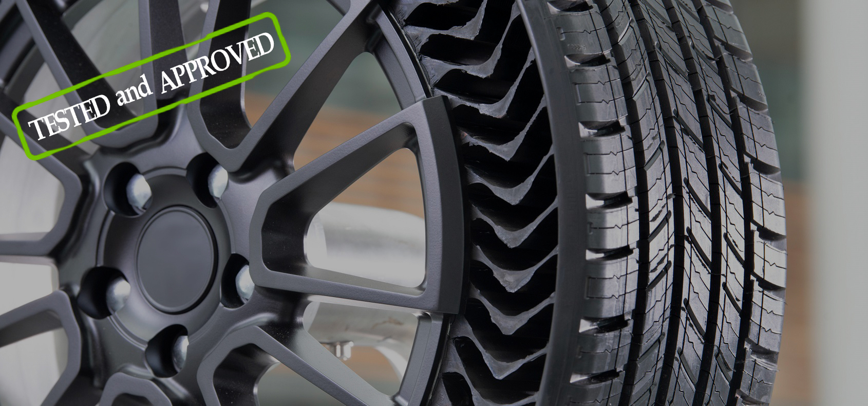 MICHELIN's airless tire, tested and approved!